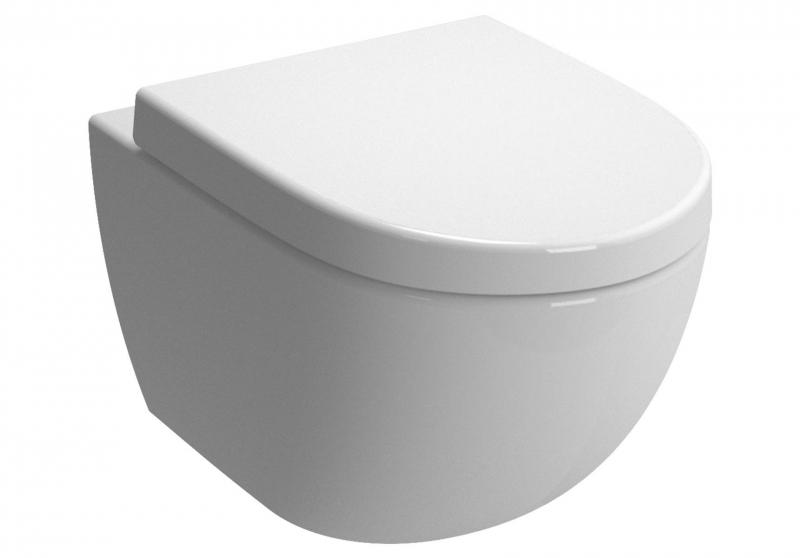 Viclean wc con doccetta intgegrata wc a cacciata senza brida