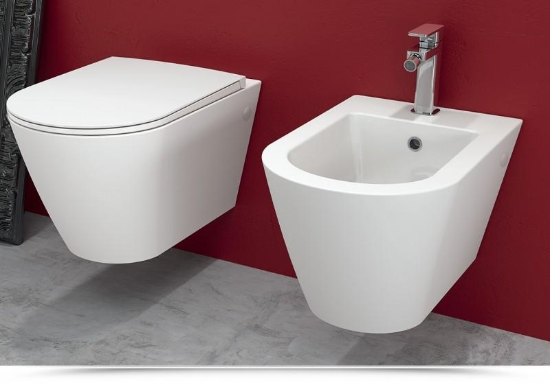 prezzo Resort sospesi RIMLESS (wc senza bordo interno) - Sanitari / Rak