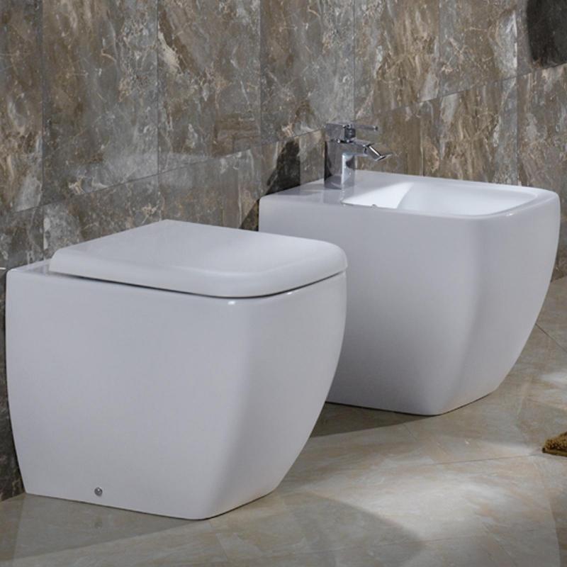 Prezzo metropolitan a terra filo muro sanitari rak for Sanitari per bagno in offerta