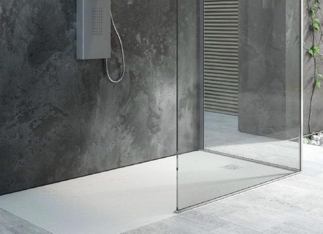 Super prezzo Piatto doccia Gea fin. pietra ardesia - Piatti doccia tipo  JL26